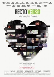 Poster Rectoverso without Soundtrack