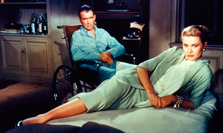 Rear Window – James Stewart and Grace Kelly