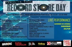 record store day yogyakarta