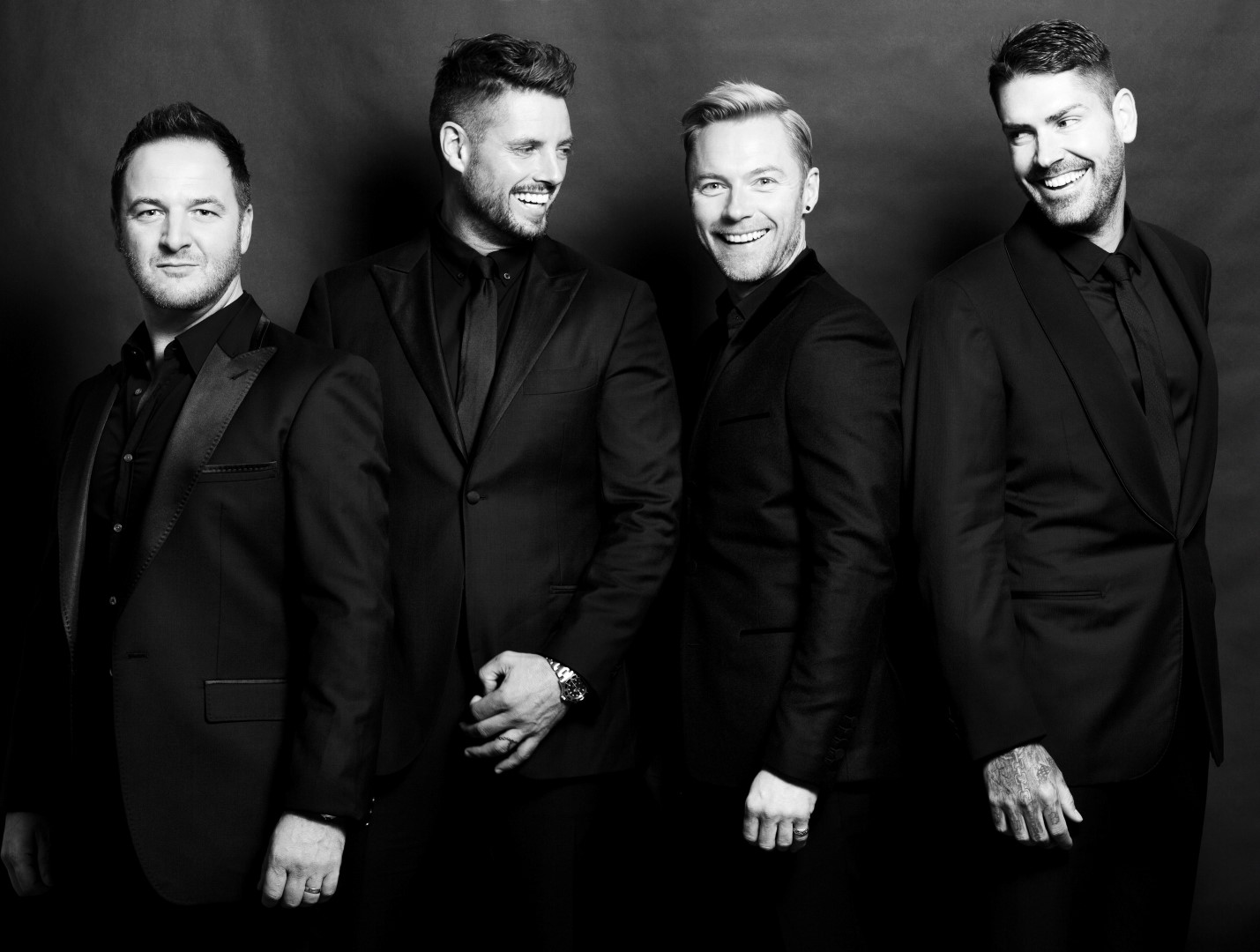 Boyzone – Photo Credit – Steve Baccon (Large)
