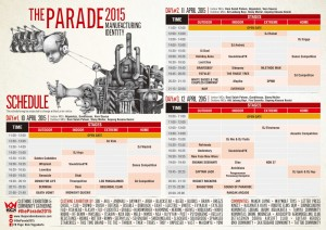 rundown the parade