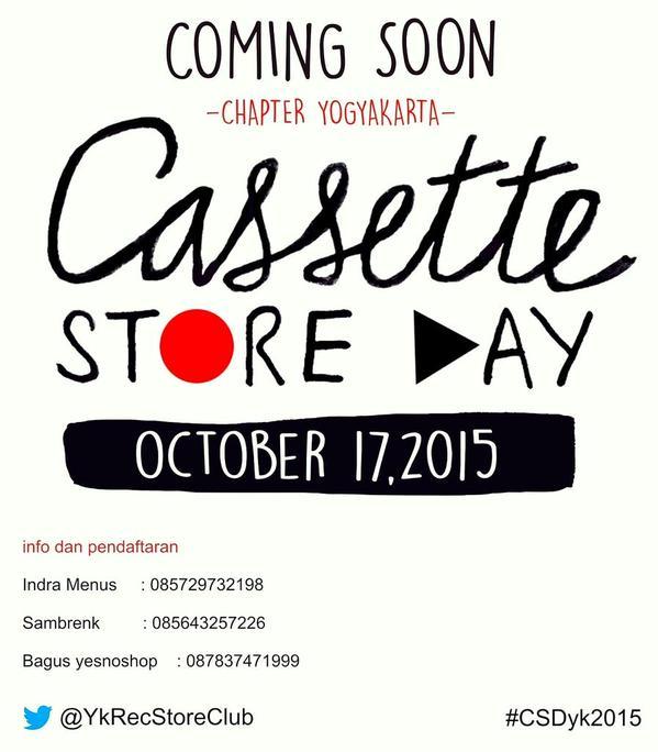 Cassette Store Day 2015 Chapter Yogyakarta