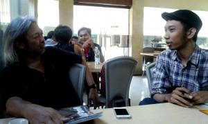 wawancara bersama Seno Gumira