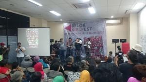 suasana pembukaan Belok Kiri Fest. doc BelokKiriFest