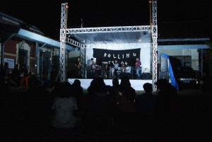 rolling stage