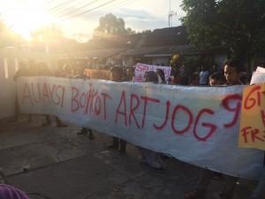 Aliansi Boikot Art Jog 2016