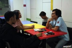 wawancara bersama Eka Kurniawan