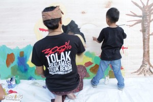 live mural painting