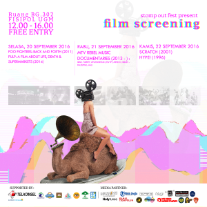 Stomp Out Fest Film Screening