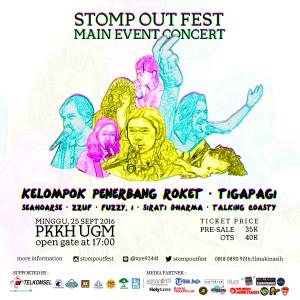 Stomp Out Fest: Main Event Concert