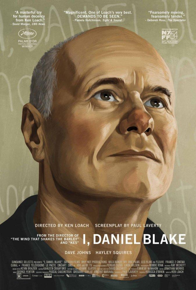I, Daniel Blake – poster