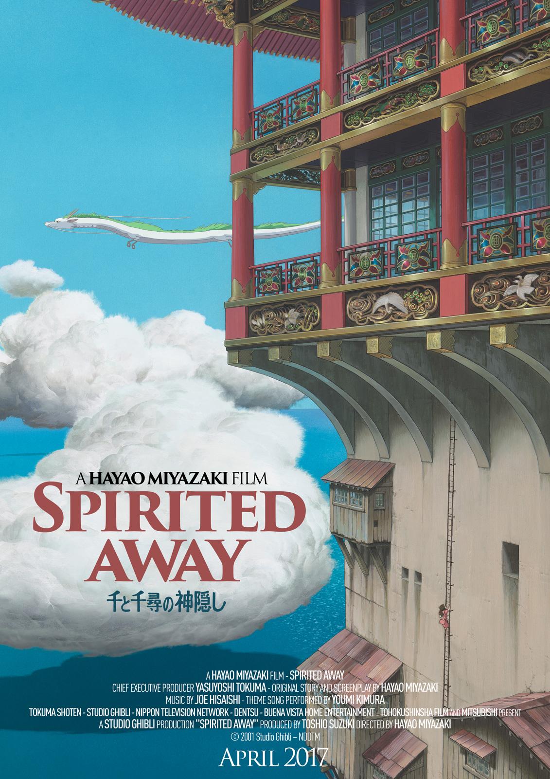Spirited Away – Poster – 14 Mar 2017