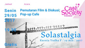 Poster Cafe Society Mei 2017