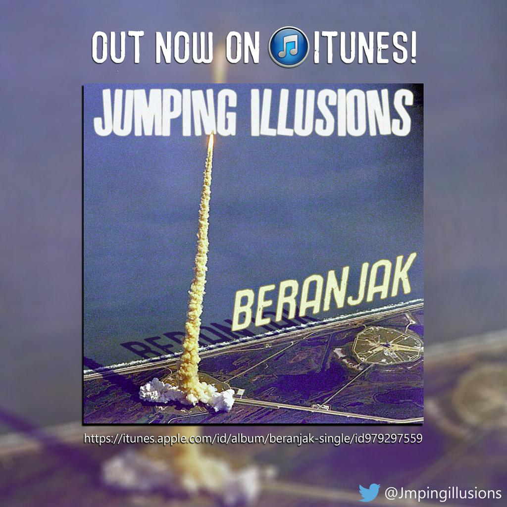 Jumping Illusions – Beranjak Flyer