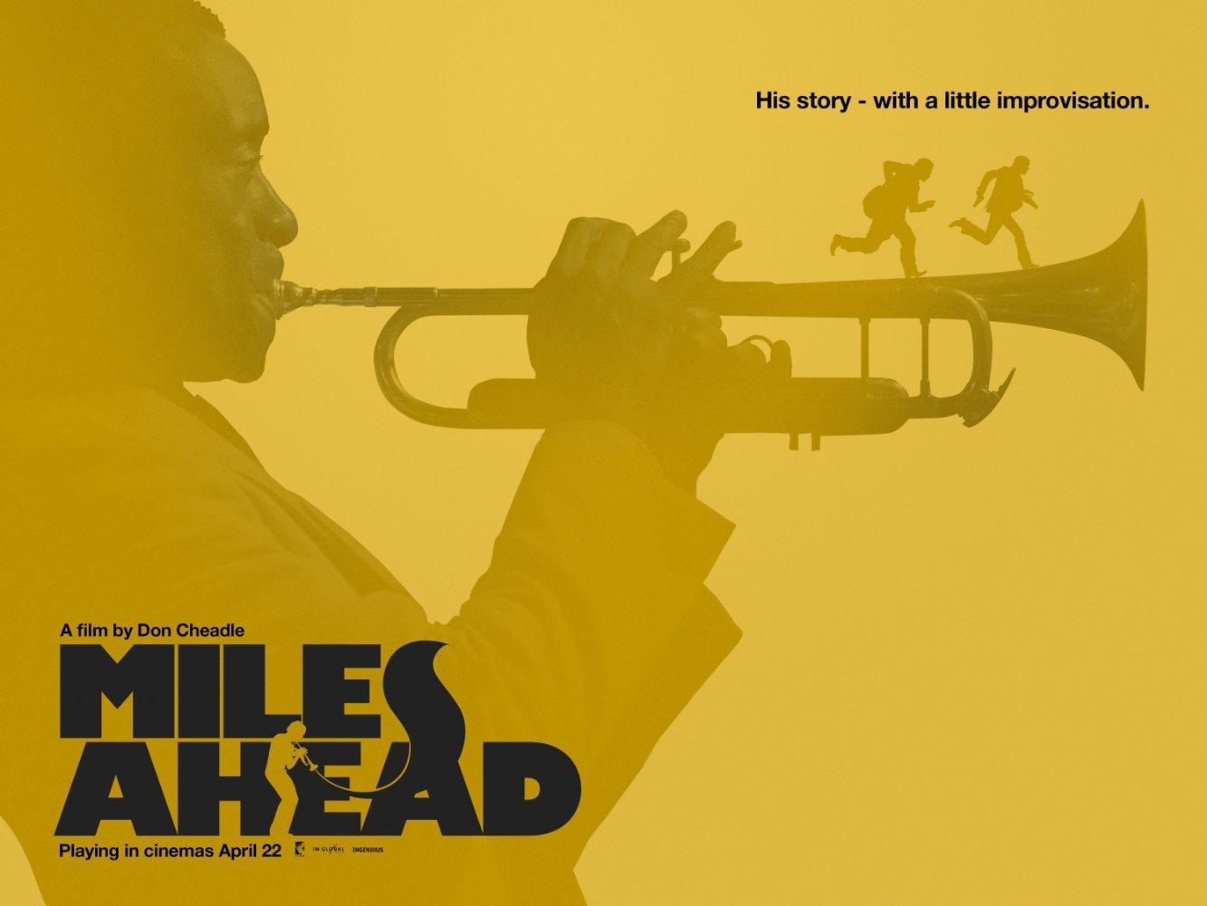 Miles Ahead – movie poster