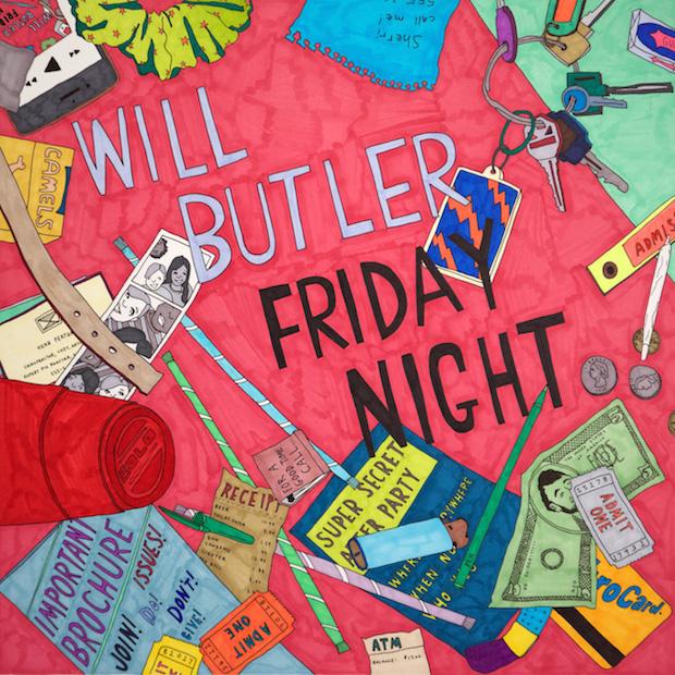 Will Butler – Friday Night