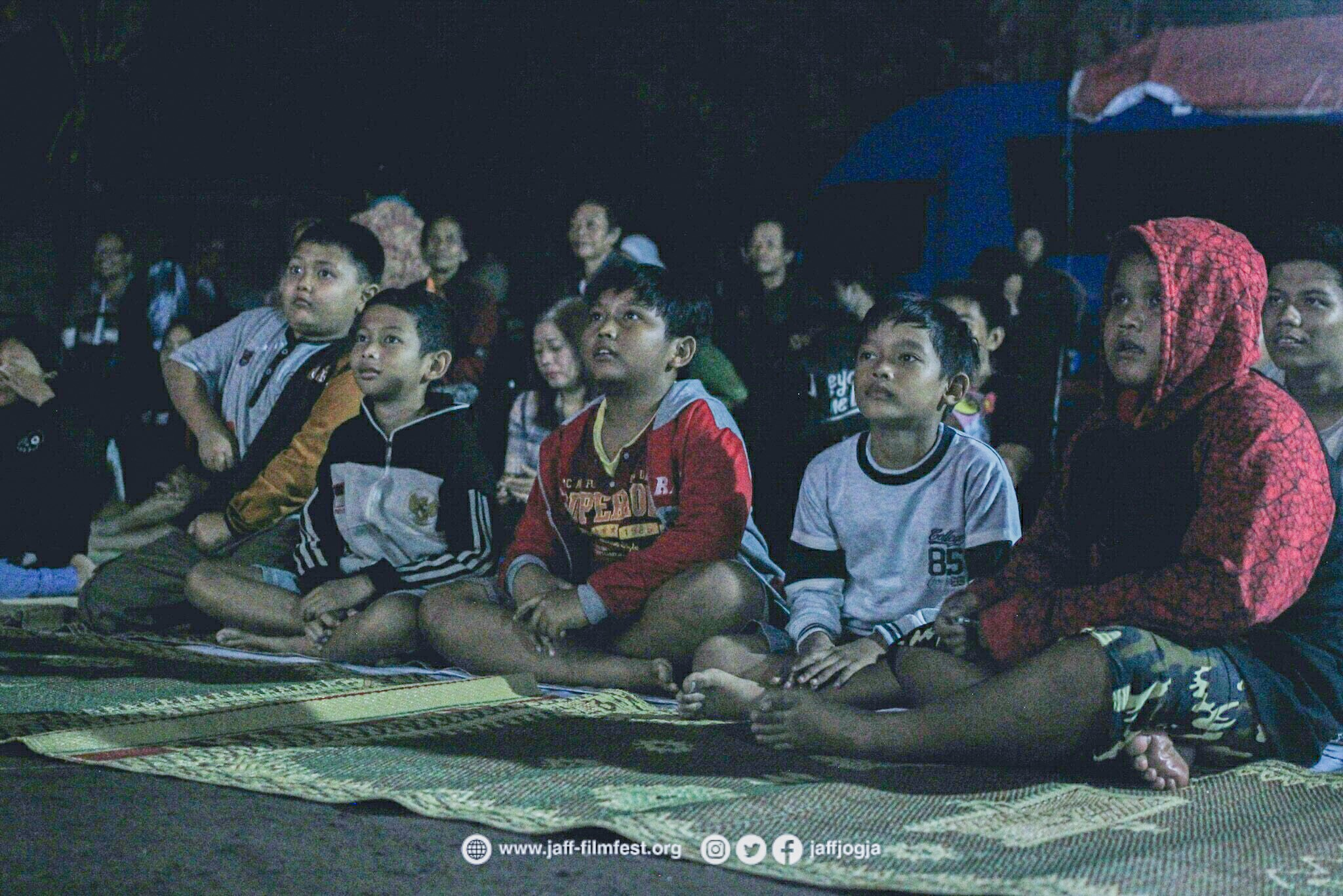 Open Air Cinema JAFF 14 'Revival', Sabtu (2